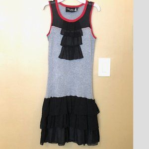 Twelve by Twelve LOS ANGELES DRESS Silk SMALL